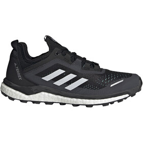 adidas TERREX Agravic Flow Trail Running Shoes Women, core black/crystal white/acid mint